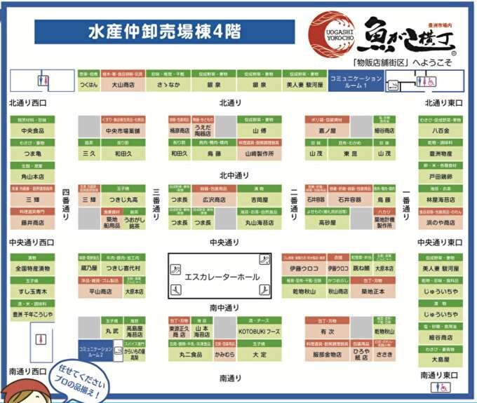 【初心者向け】豊洲市場の買い物「魚がし横丁」案内「営業時間は?何が買える?鮮魚は買える?」