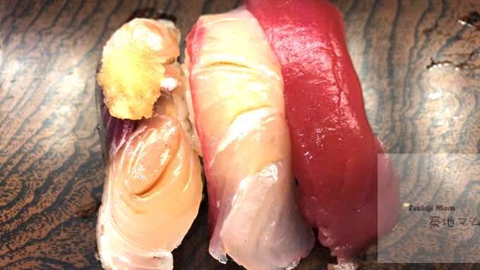"""【BEST SUSHI in tsukiji fish market ,Tokyo 】 """"SUSHIDAI""""map/open hours/menu"""