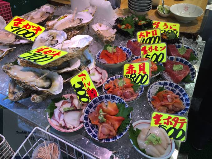 """Tsukiji Market""  Tokyo hot spot for Sushi/Sashimi lover 《you should stop by! 》"