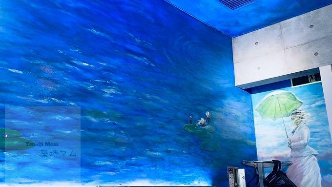 【豊洲市場ランチ】おすすめ絶品「ズワイ蟹カルボナーラ」モネの池でイタリアン