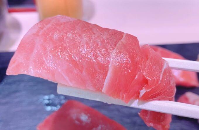 美味しそうな中トロ寿司