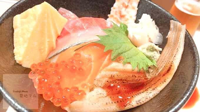 江戸前城下町寿司菜の海鮮丼